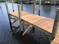New IPE decked dock
