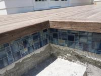Pool deck with Zuri decking