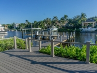 New Admirals Cove Dock